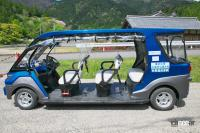 運用開始した電動車による自動運転を滋賀県の山中でいち早く体験してみた! - shiga_autodrive_09