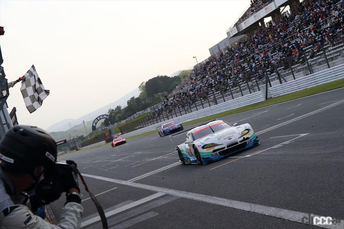 「最後の最後で大逆転! SYNTIUM LMcorsa GR Supra GTと河野駿佑選手が第2戦 富士でGT300初優勝【SUPER GT 2021】」の8枚目の画像