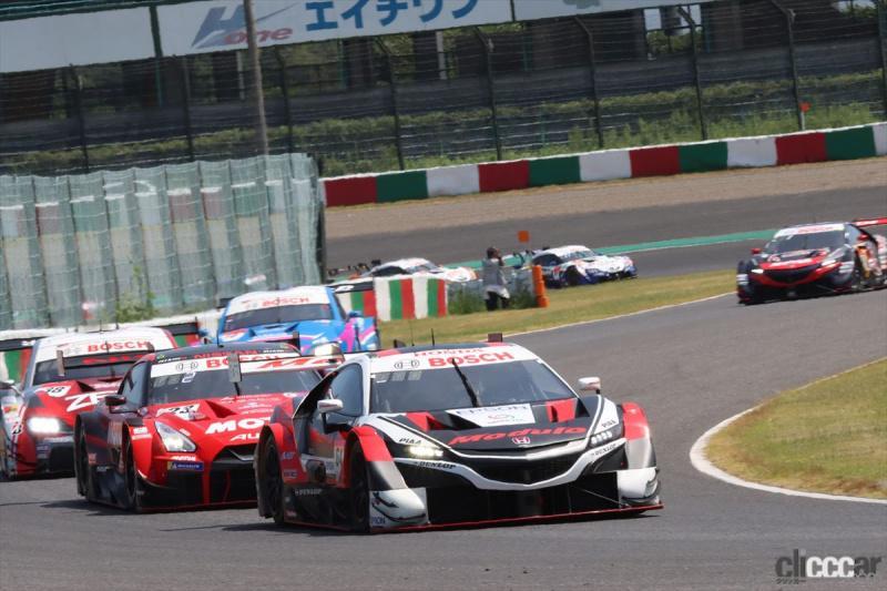 2020年8月のSUPER GT 鈴鹿戦