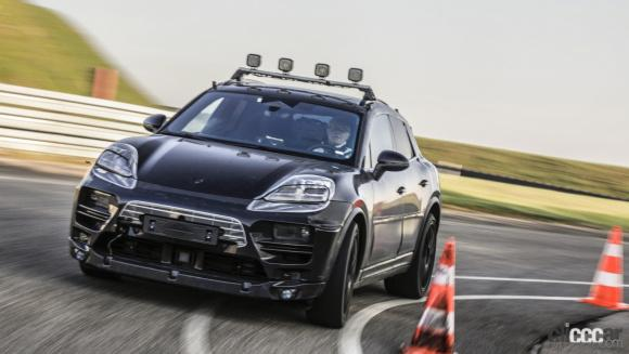prototypes of the all-electric Macan