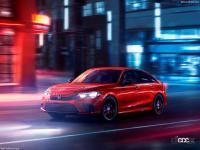 もうすぐ来るぞ! 新型ホンダ・シビック、高性能モデル「Si」はこうなる! - Honda-Civic_Sedan-2022-1280-04