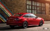 もうすぐ来るぞ! 新型ホンダ・シビック、高性能モデル「Si」はこうなる! - Honda-Civic_Sedan-2022-1280-07