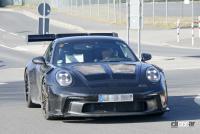 新型・ポルシェ911GT3 RS、巨大ウィングをニュルで最終調整 - Porsche 911 GT3 RS 18