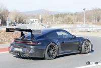 新型・ポルシェ911GT3 RS、巨大ウィングをニュルで最終調整 - Porsche 911 GT3 RS 23