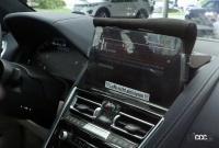 BMW 8シリーズ カブリオレ改良型を初キャッチ。新インフォテイメントディスプレイを採用か? - BMW 8 Series Convertible facelift 2