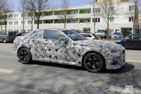 筋肉質のボディ見えた! BMW 2シリーズこれが最終デザインだ - Spy shot of secretly tested future car