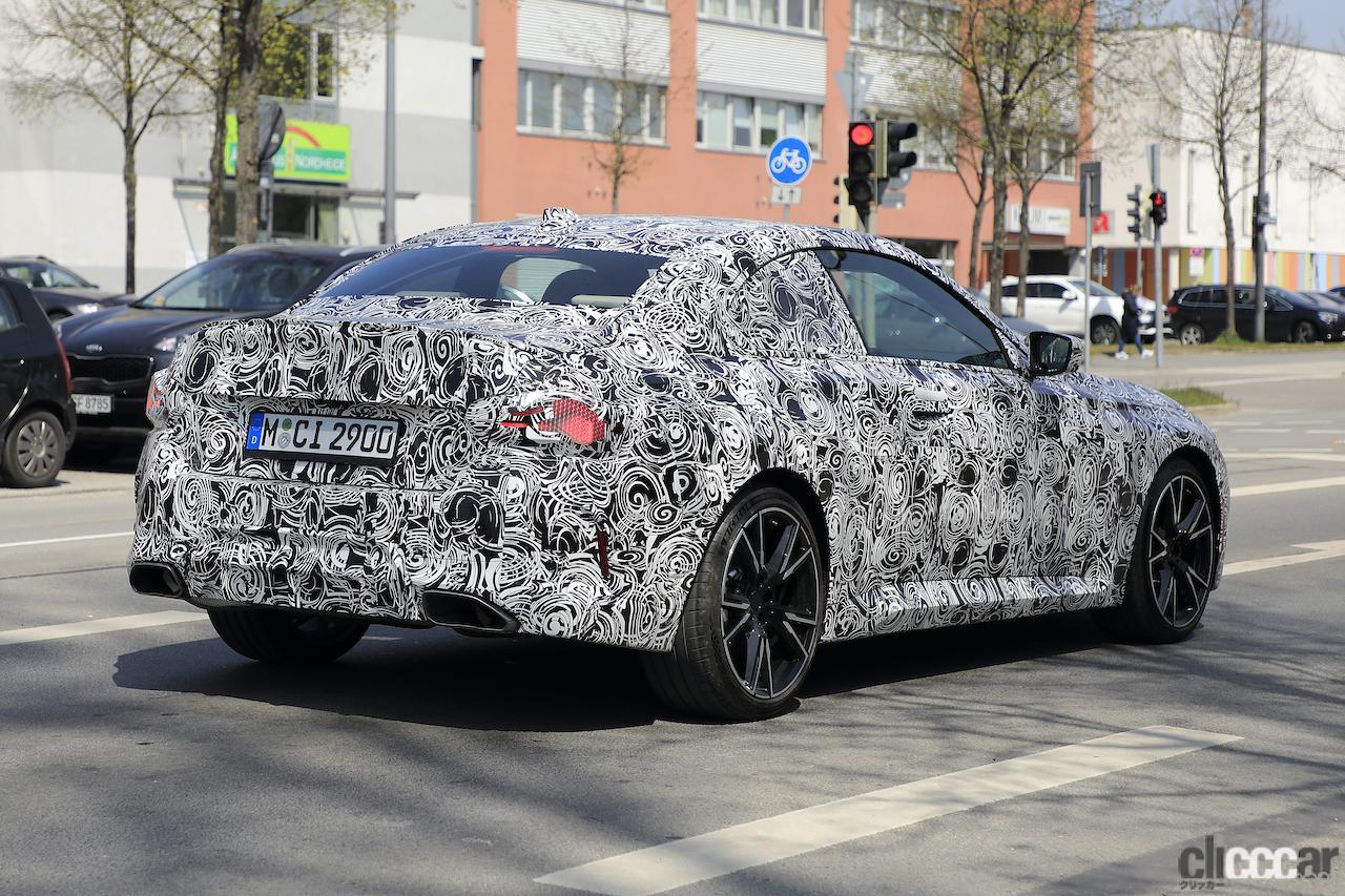 「筋肉質のボディ見えた! BMW 2シリーズこれが最終デザインだ」の6枚目の画像