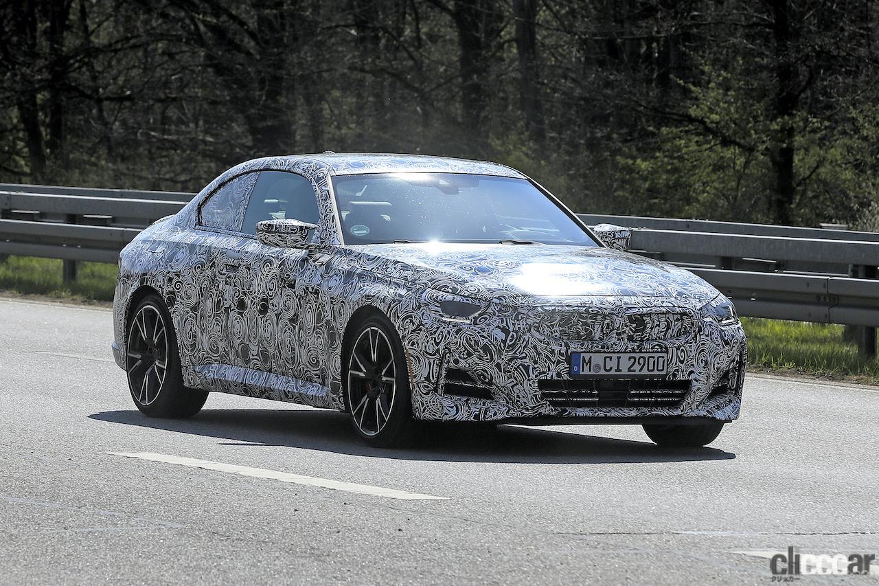 「筋肉質のボディ見えた! BMW 2シリーズこれが最終デザインだ」の9枚目の画像