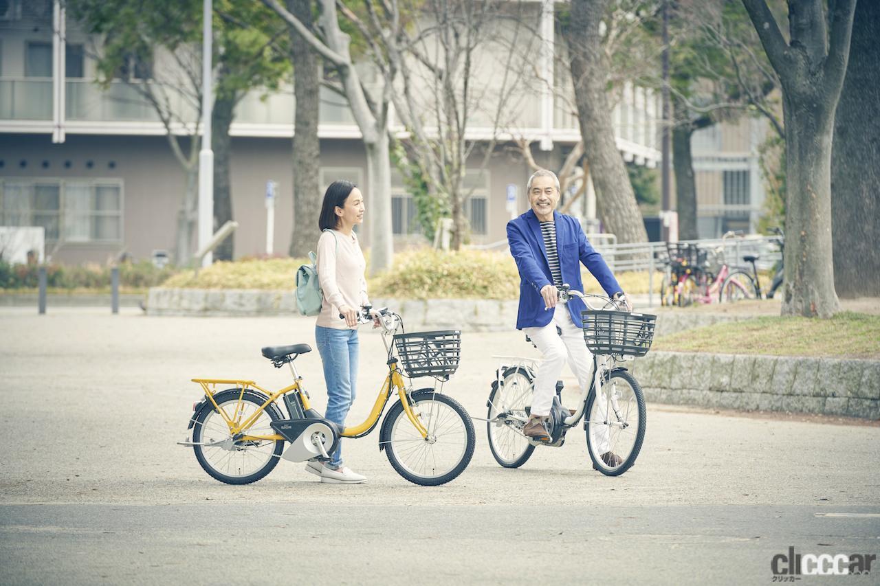 アクティブ・シニアがターゲット、軽量化とアシスト力が向上したヤマハの電動アシスト付自転車「PAS SION-U」が登場