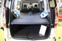 日産がNV350キャラバン/NV200バネット/セレナをベースとした車中泊仕様を出展【ジャパンキャンピングカーショー2021】 - NISSAN_campingcar_20210521_3