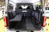 日産がNV350キャラバン/NV200バネット/セレナをベースとした車中泊仕様を出展【ジャパンキャンピングカーショー2021】 - NISSAN_campingcar_20210521_6