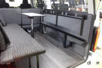 日産がNV350キャラバン/NV200バネット/セレナをベースとした車中泊仕様を出展【ジャパンキャンピングカーショー2021】 - NISSAN_campingcar_20210521_7