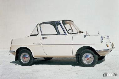 1960年発売のR360クーペ(サイド)