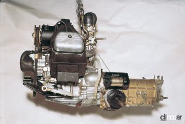 R360クーペのパワートレイン