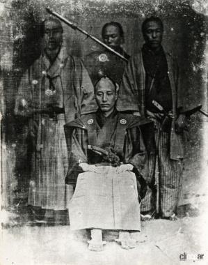 エレファレット・ブラウン・ジュニアによる日本最古の写真のひとつ(C)Creative Commons