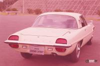 第1回インディ500開催。世界初の量産ロータリー車コスモスポーツがデビュー!【今日は何の日?5月30日】 - 1967年発売のコスモスポーツ(リア)