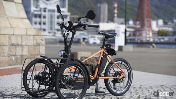 カワサキが電動3輪車ノスリスを開発