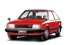 1980年発売5代目ファミリア