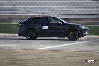 6月下旬デビューへ! ポルシェ カイエン新高性能グレード、プロトタイプを公式リーク【動画】 - Porsche-Cayenne-Turbo-Walter-05