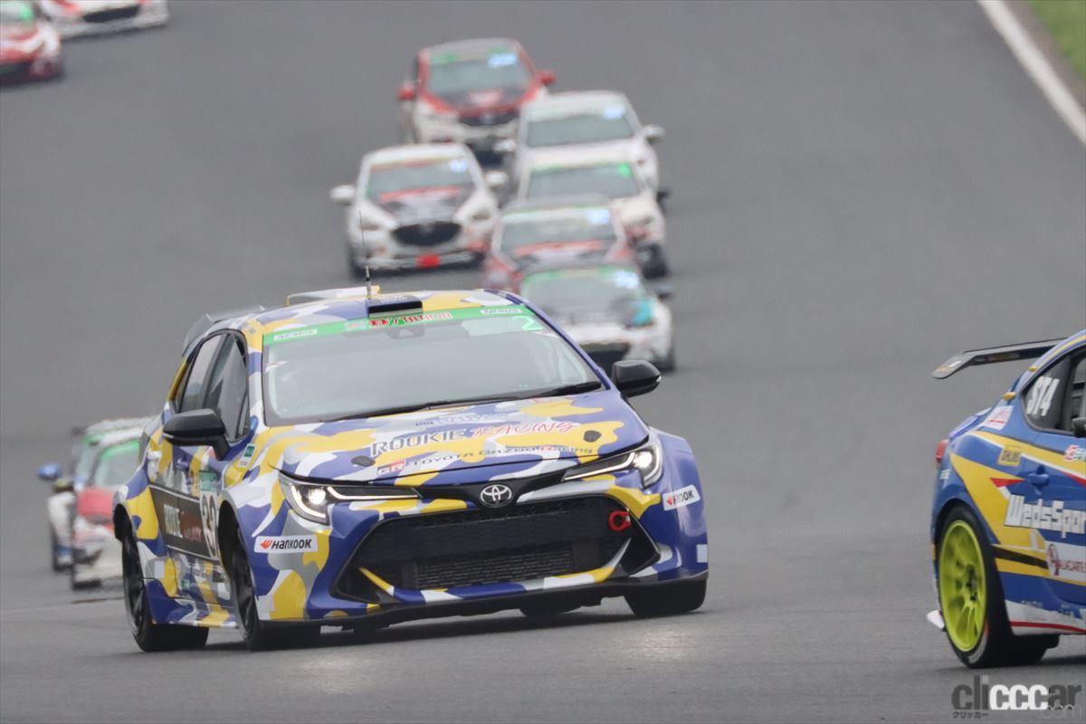 「水素エンジン、斯く戦えり。世界初の水素エンジンレーシングカーでトヨタの社長がレースを走った【スーパー耐久2021】」の2枚目の画像