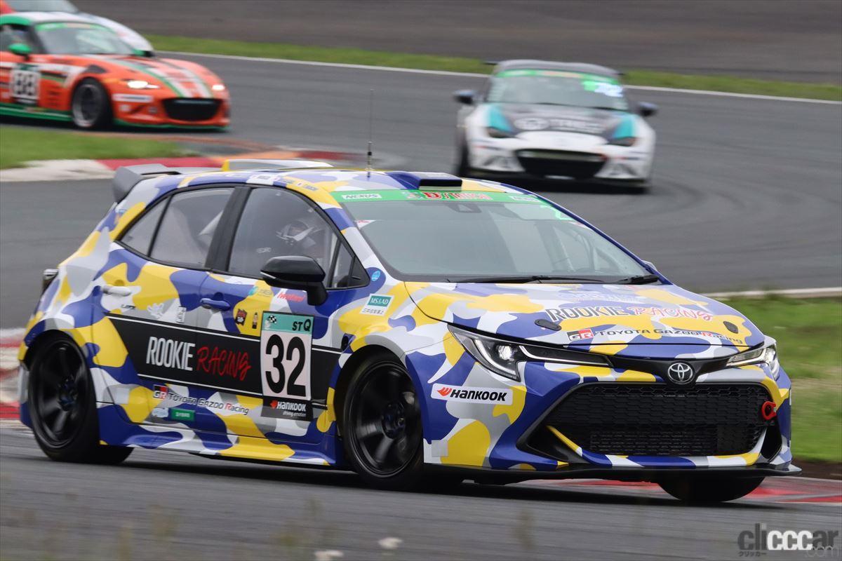 「水素エンジン、斯く戦えり。世界初の水素エンジンレーシングカーでトヨタの社長がレースを走った【スーパー耐久2021】」の5枚目の画像