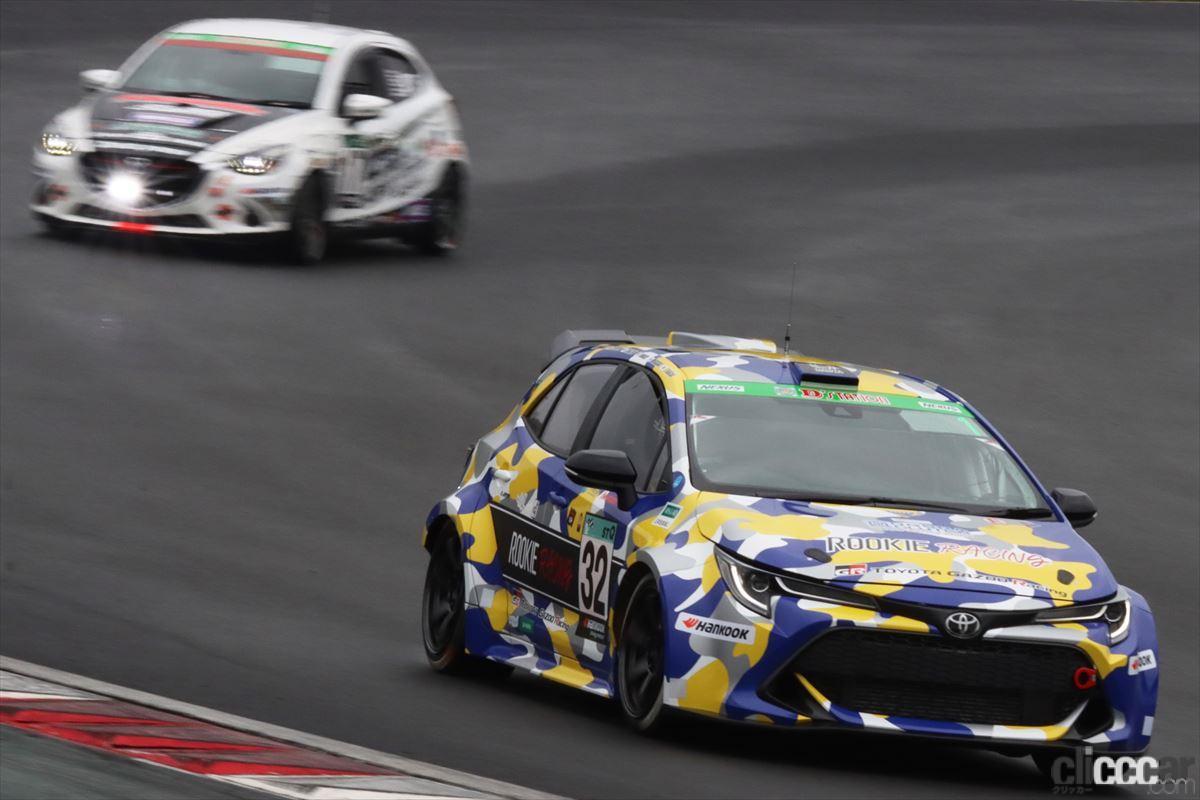 「水素エンジン、斯く戦えり。世界初の水素エンジンレーシングカーでトヨタの社長がレースを走った【スーパー耐久2021】」の6枚目の画像