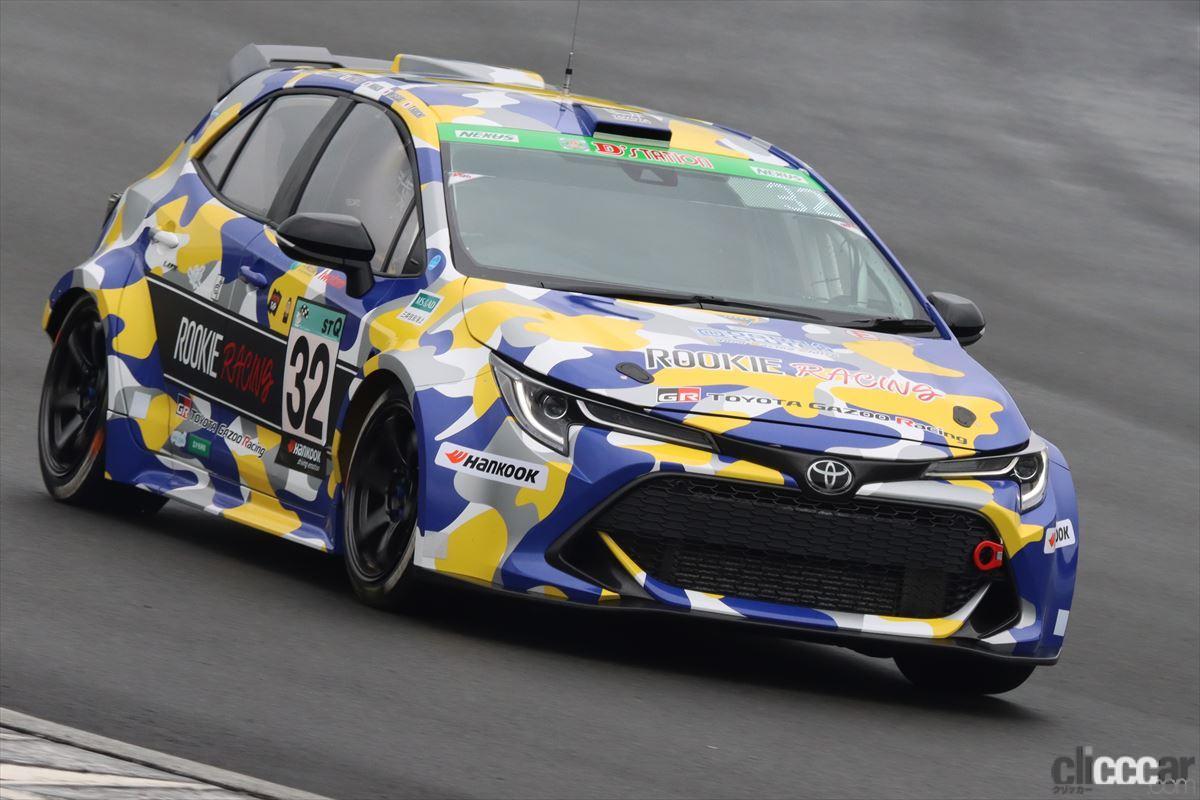 「水素エンジン、斯く戦えり。世界初の水素エンジンレーシングカーでトヨタの社長がレースを走った【スーパー耐久2021】」の9枚目の画像