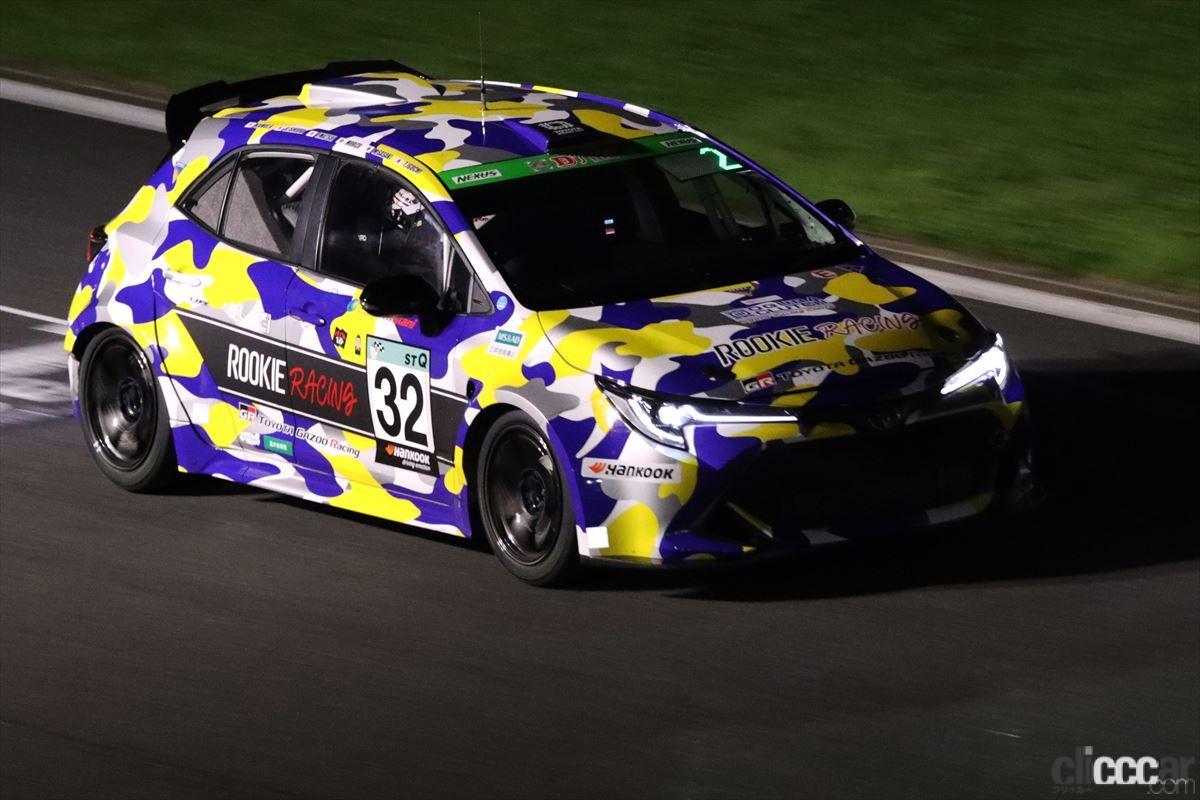 「水素エンジン、斯く戦えり。世界初の水素エンジンレーシングカーでトヨタの社長がレースを走った【スーパー耐久2021】」の10枚目の画像