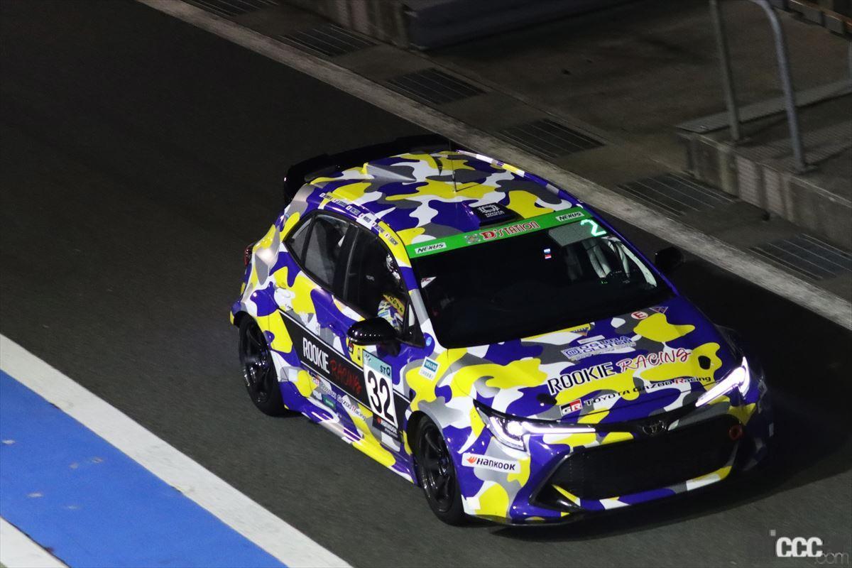 「水素エンジン、斯く戦えり。世界初の水素エンジンレーシングカーでトヨタの社長がレースを走った【スーパー耐久2021】」の11枚目の画像