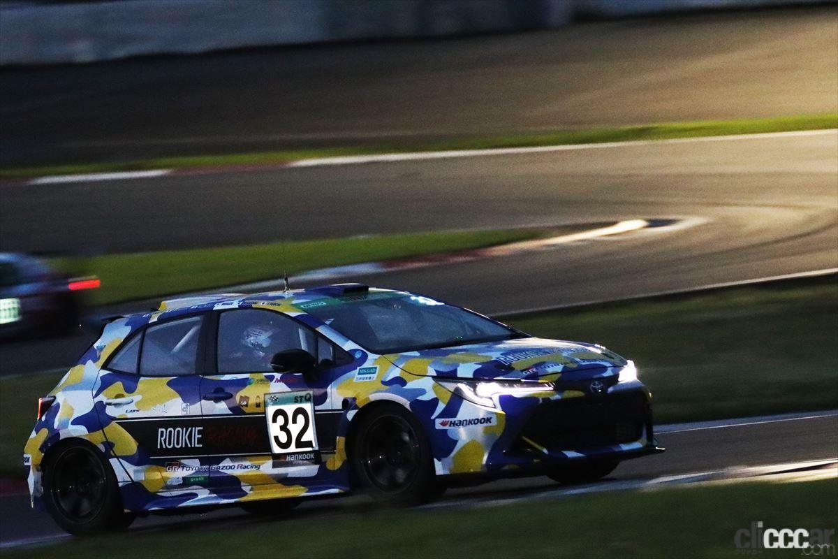 「水素エンジン、斯く戦えり。世界初の水素エンジンレーシングカーでトヨタの社長がレースを走った【スーパー耐久2021】」の12枚目の画像