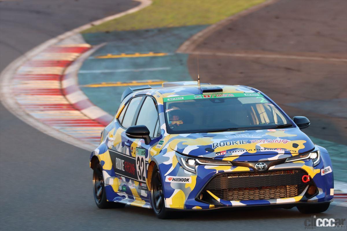 「水素エンジン、斯く戦えり。世界初の水素エンジンレーシングカーでトヨタの社長がレースを走った【スーパー耐久2021】」の14枚目の画像