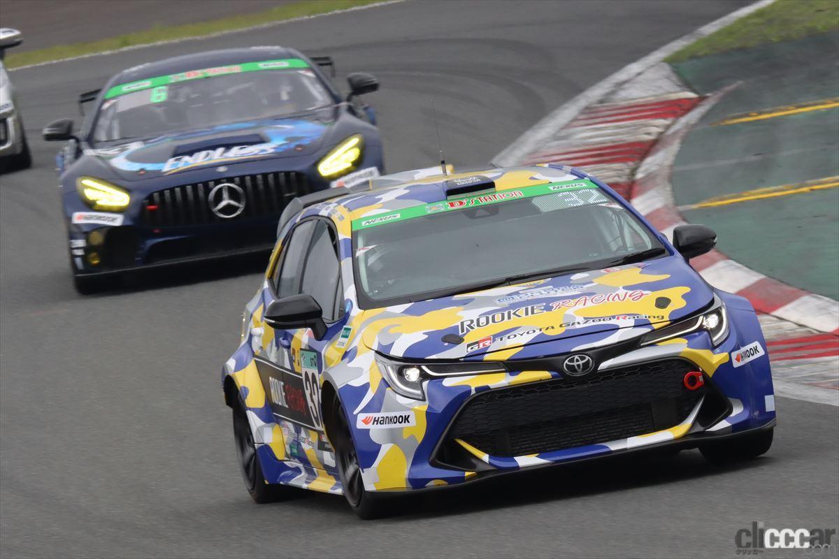 「水素エンジン、斯く戦えり。世界初の水素エンジンレーシングカーでトヨタの社長がレースを走った【スーパー耐久2021】」の20枚目の画像
