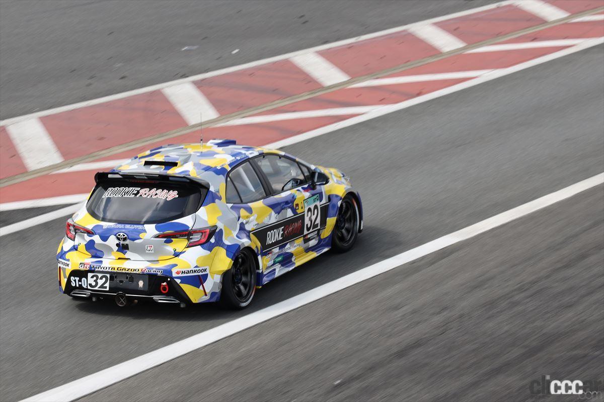 「水素エンジン、斯く戦えり。世界初の水素エンジンレーシングカーでトヨタの社長がレースを走った【スーパー耐久2021】」の25枚目の画像