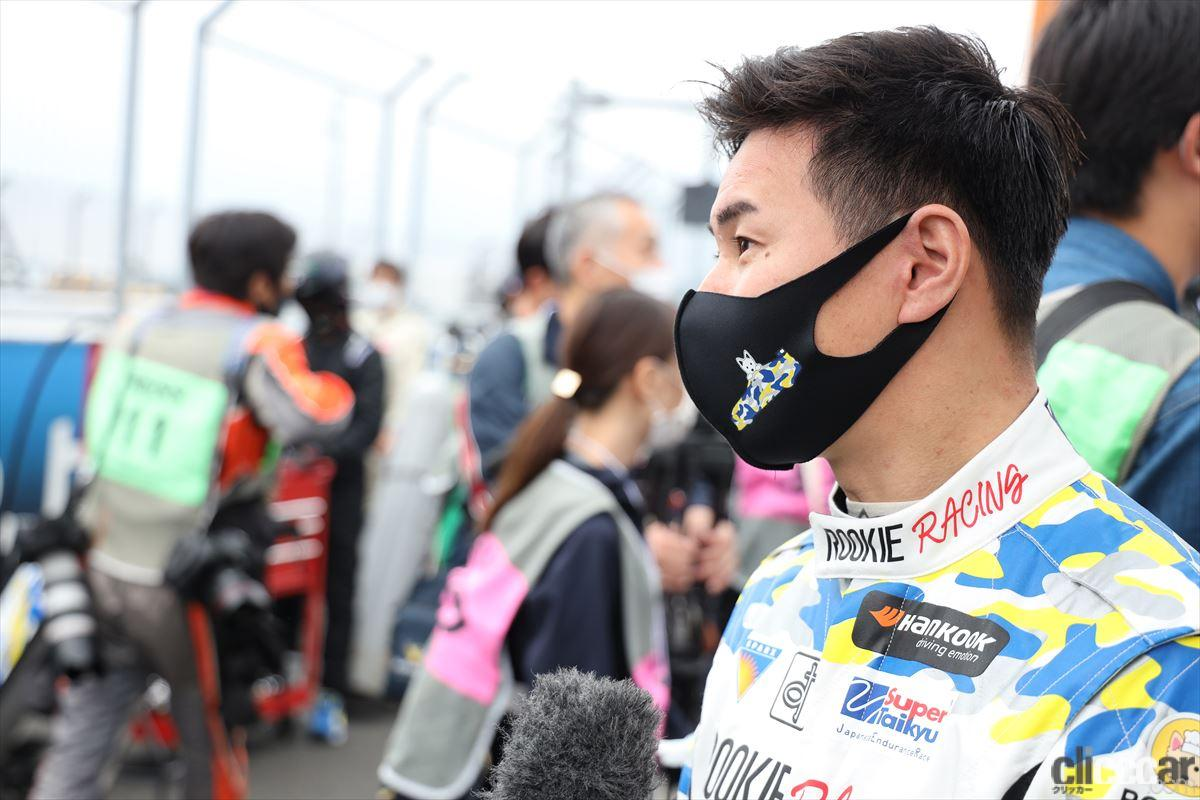 「水素エンジン、斯く戦えり。世界初の水素エンジンレーシングカーでトヨタの社長がレースを走った【スーパー耐久2021】」の34枚目の画像