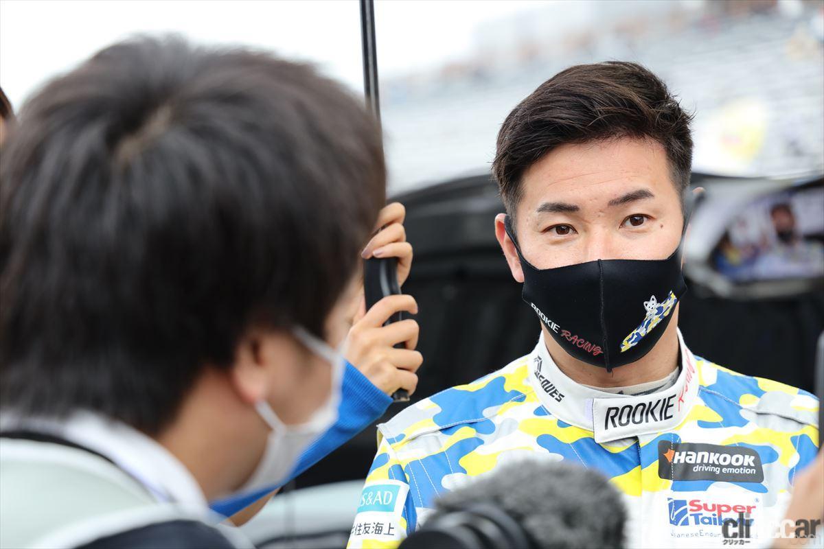 「水素エンジン、斯く戦えり。世界初の水素エンジンレーシングカーでトヨタの社長がレースを走った【スーパー耐久2021】」の35枚目の画像
