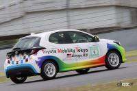 GRヤリスとは違う「ヤリスカップカー」とは?トヨタの市販ワンメイクマシンをトップRQ・生田ちむちゃんと見てきた - cl_yaris_cup_003