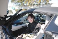 「ミニスカートでは…」美月千佳×BMW i8ロードスター【注目モデルでドライブデート!? Vol.84】 - mizuki_i8_09