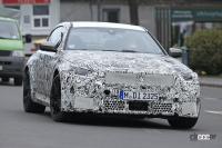 BMW M2次期型、電化されない最後の「M」モデルか!? - Spy shot of secretly tested future car