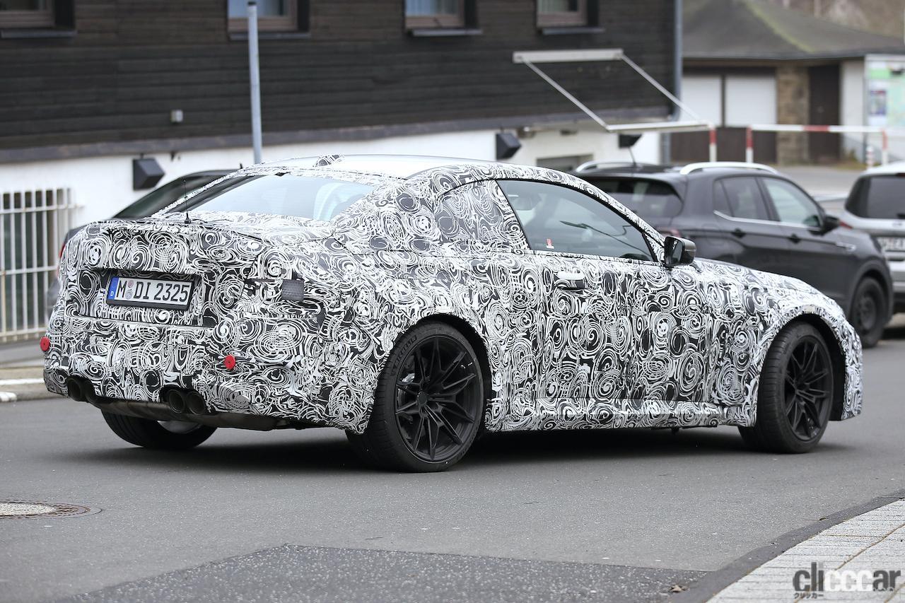 「BMW M2次期型、電化されない最後の「M」モデルか!?」の9枚目の画像