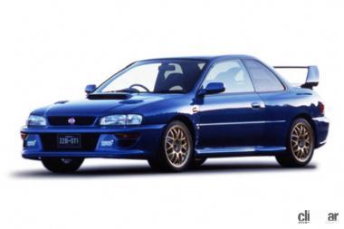1998年発売のインプレッサWRX 22B STI