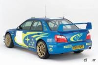 スバル・インプレッサWRCがアクロポリスラリーで優勝。第1回全国自動車競走大会が開催。【今日は何の日?6月7日】 - インプレッサWRC 2004 プロト(Rear View)