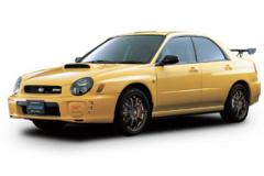 2002年発売のインプレッサWRX S202 STI