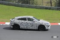 これが噂の「EVO」か!? ランボルギーニ ウルス、670馬力の高性能モデルがニュルを疾走 - Spy shot of secretly tested future car
