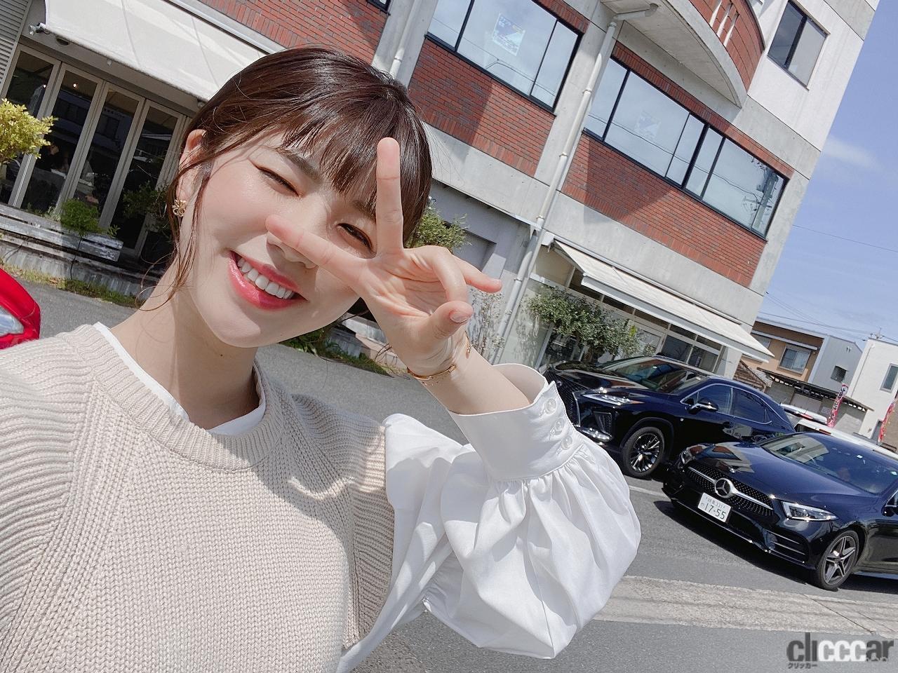 元SKE48梅本まどか、レクサスのEV&SUVでドライブしちゃいました☆うめまど通信vol.40