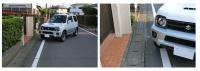 バック駐車・車庫入れで簡単にまっすぐスマートに決めるコツは目線とハンドル操作 - parking 1