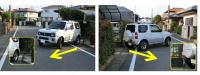 バック駐車・車庫入れで簡単にまっすぐスマートに決めるコツは目線とハンドル操作 - parking 2