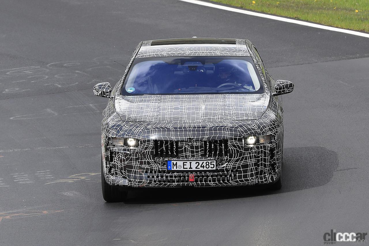 「V12はもういらない!? BMW 7シリーズ次世代型、頂点には電動化された「i750M60」」の1枚目の画像