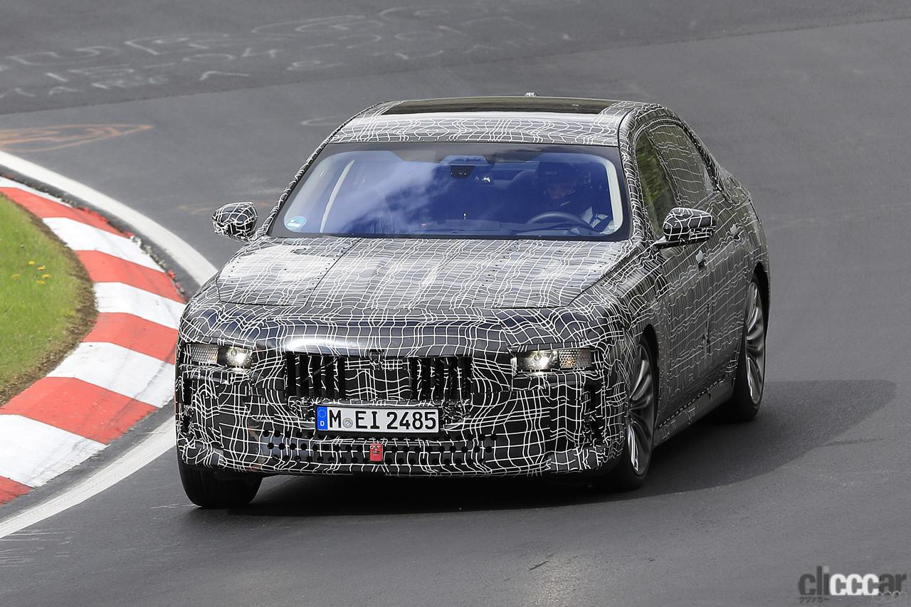 「V12はもういらない!? BMW 7シリーズ次世代型、頂点には電動化された「i750M60」」の2枚目の画像