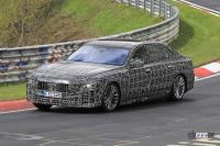 V12はもういらない!? BMW 7シリーズ次世代型、頂点には電動化された「i750M60」 - Spy shot of secretly tested future car