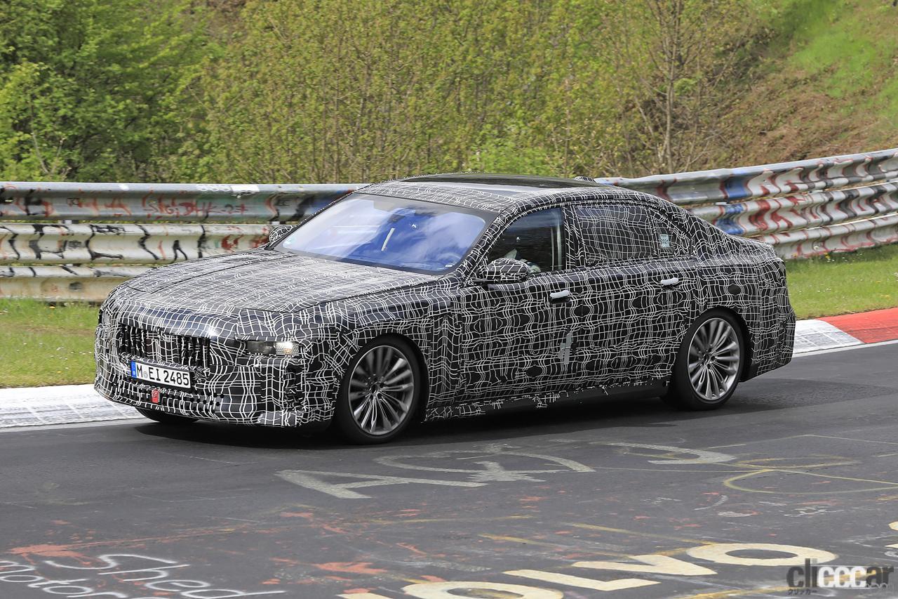 「V12はもういらない!? BMW 7シリーズ次世代型、頂点には電動化された「i750M60」」の5枚目の画像